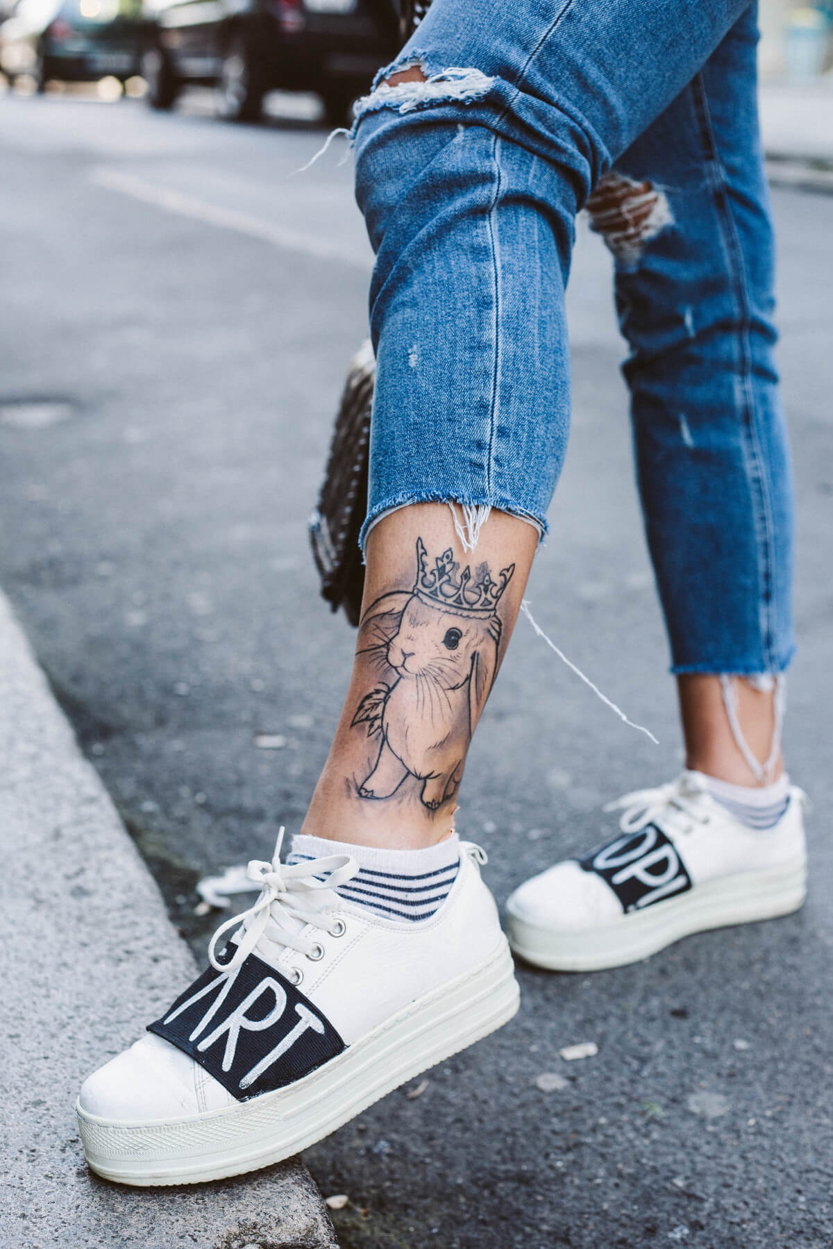 Rabbit tattoo