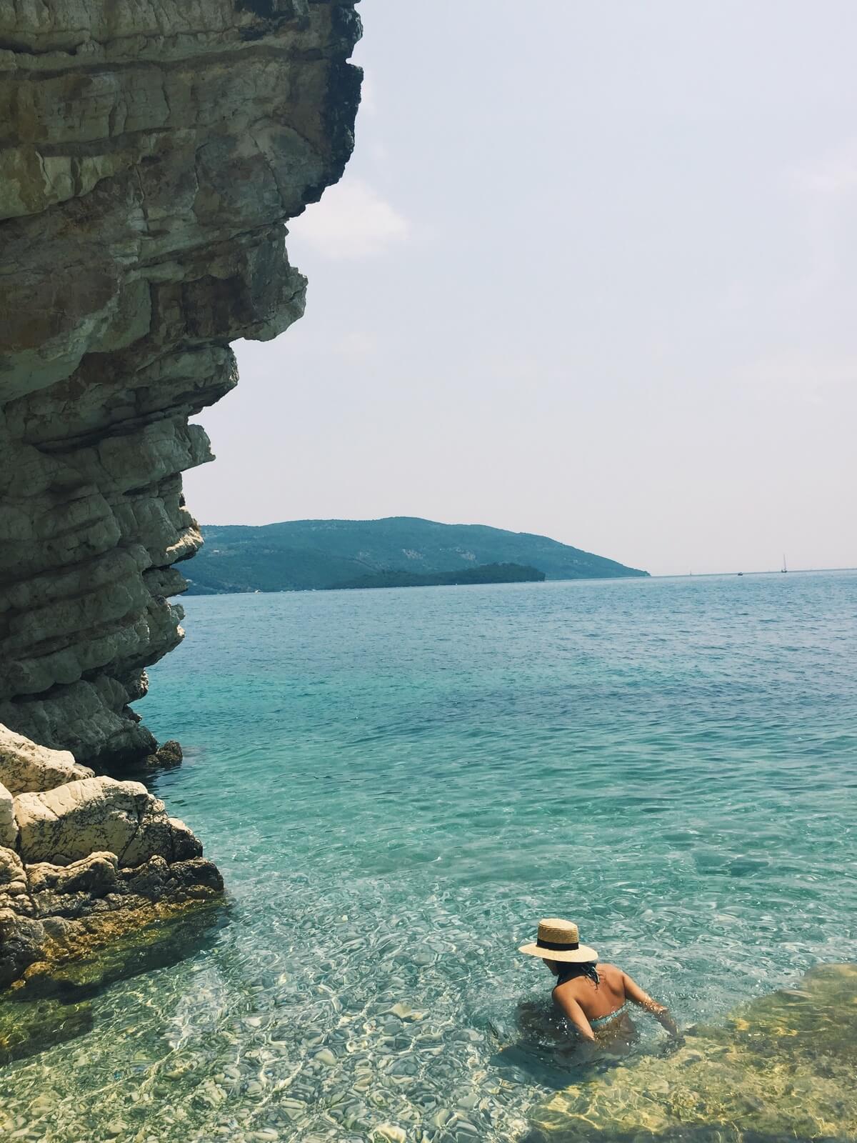 Beach in Lefkada, Greece
