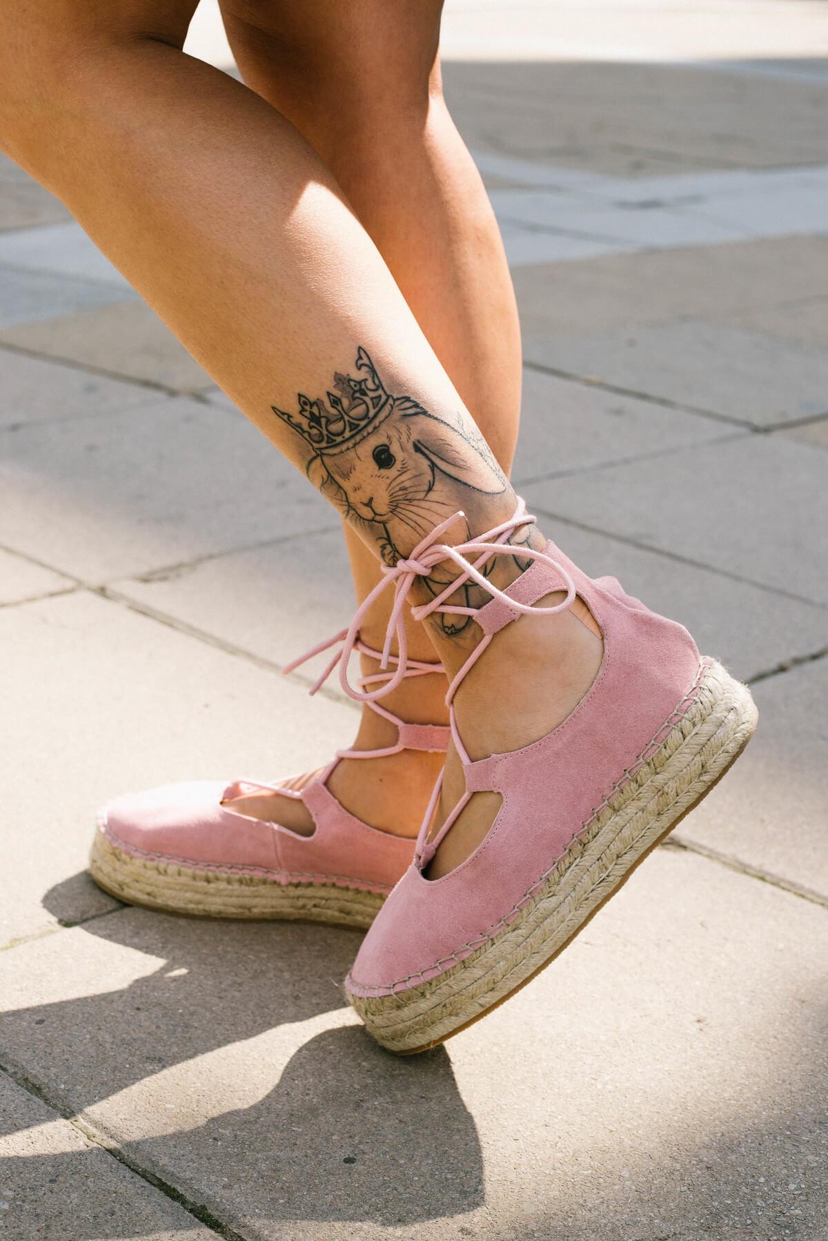 pink espadrilles