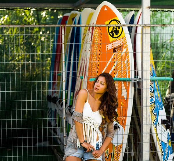 Beach outfit, winsurfing club