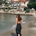On the beach in Vassiliki, Lefkada